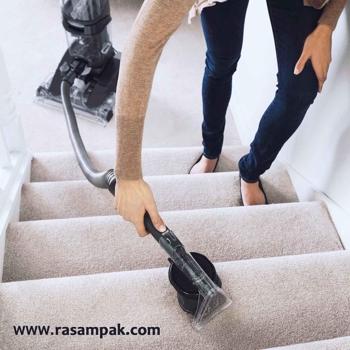 نظافت منزل با بخارشوی رسام پاک شرکت نظافتی در قیطریه