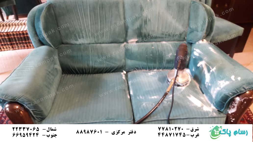 شستشوی مبل با رسام پاک