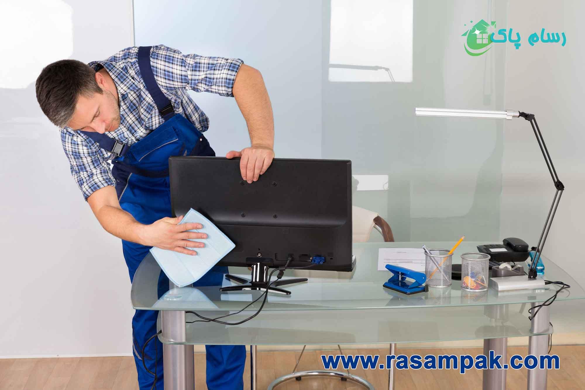 نظافت حرفه ای ادارات شرکت نظافتی در قیطریه