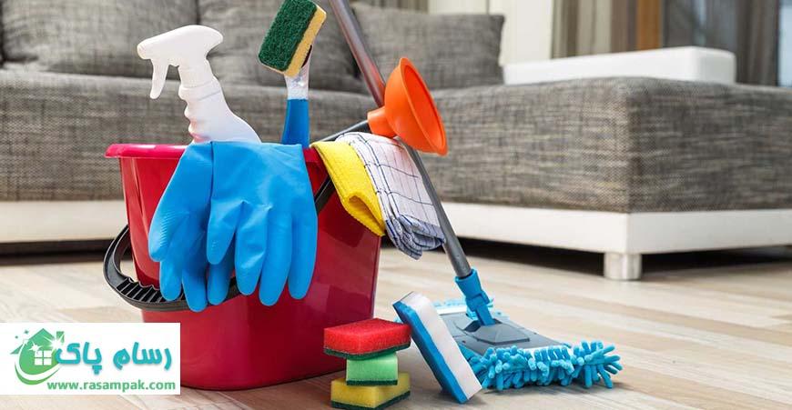 نظافت منزل در سریعترین زمان
