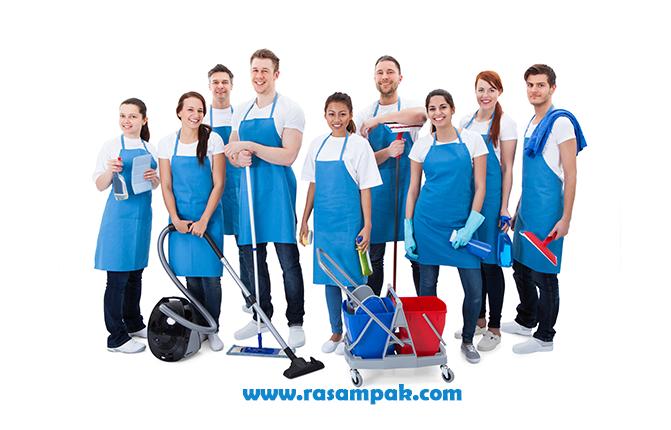 نیروهای حرفه ای نظافت منزل -شرکت نگین سرویس رسام