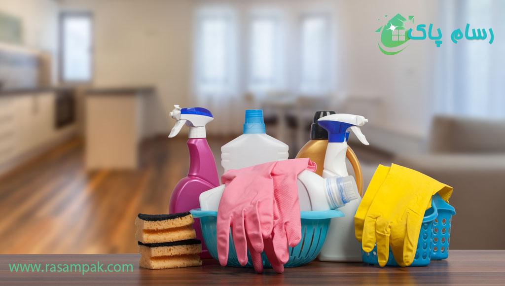 استخدام نظافتچی برای نظافت منزل شرکت نظافتی رسام پاک
