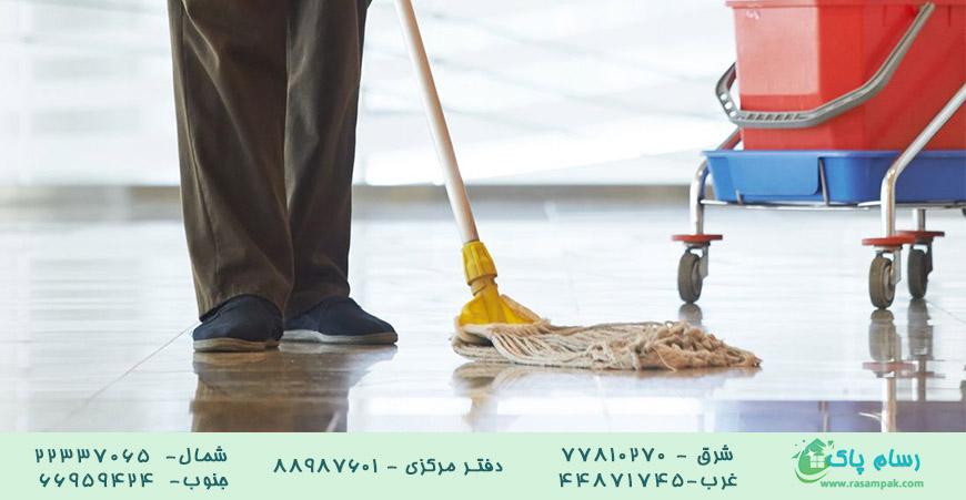 نظافت راه پله تخصصی-شرکت نظافتی رسام پاک 22337065