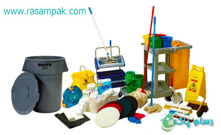 نظافت راه پله و مشاعات شرکت نظافتی رسام پاک