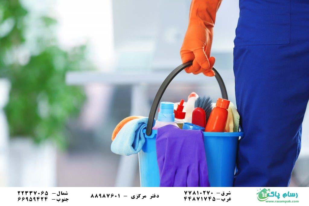 نظافت منزل حرفه ای - شرکت نظافتی در عباس آباد